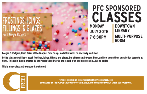 Frostings, Iceings, Fillings, & Glazes