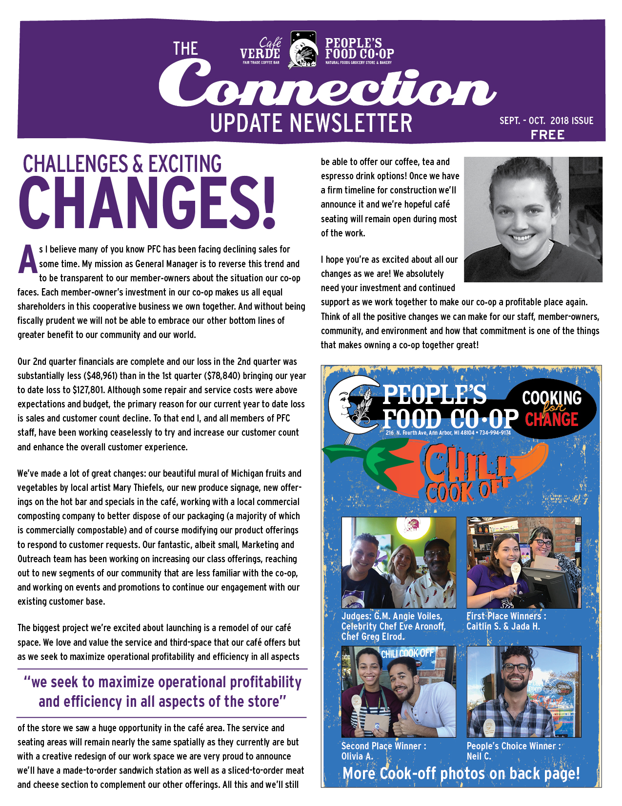 Co-op Fall 2017 Newsletter