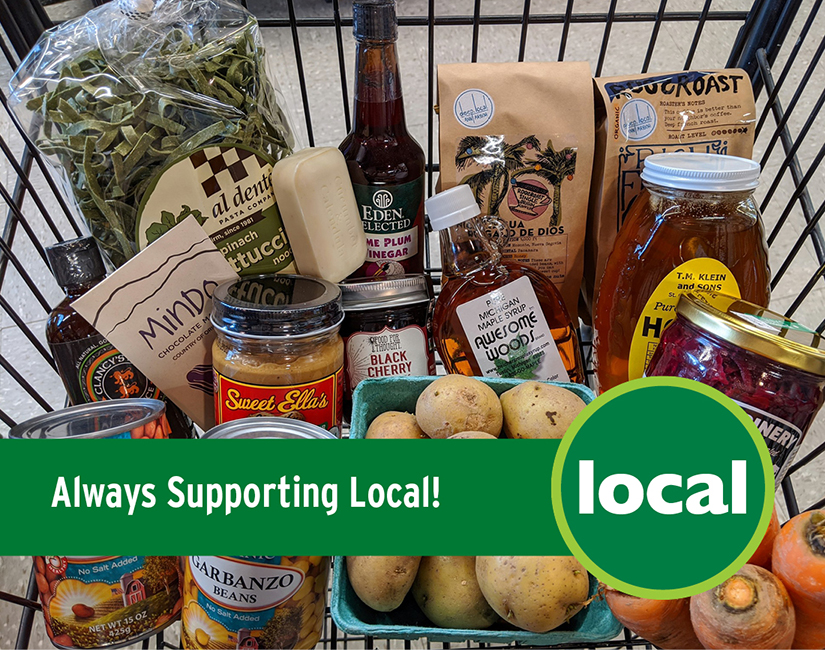 Always supporting local