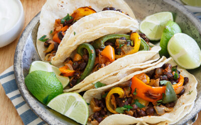 Charred Pepper Tacos