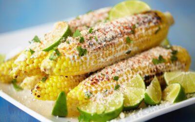 Corn with Cilantro, Cumin, Butter